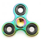 Rotating Tri-Spinner Colorful Fidget